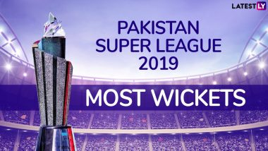 PSL 2019 Most Wickets: Rahat Ali Tops the List of Highest Wicket-Taker, Maroon Cap, in Pakistan Super League 4